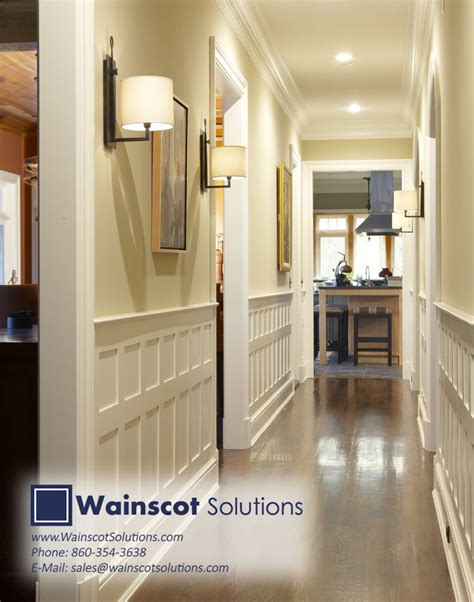 modern wainscoting trends 8 best hallway column designs by wainscot solutions