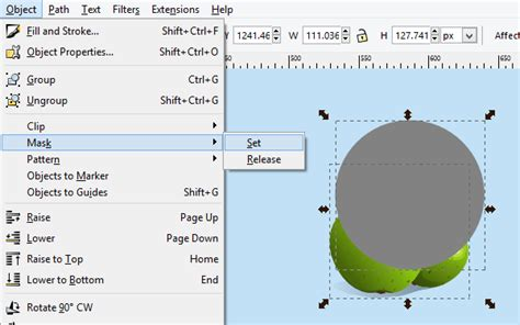 inkscape clipping tutorial quick tip what are clipping and masking in inkscape