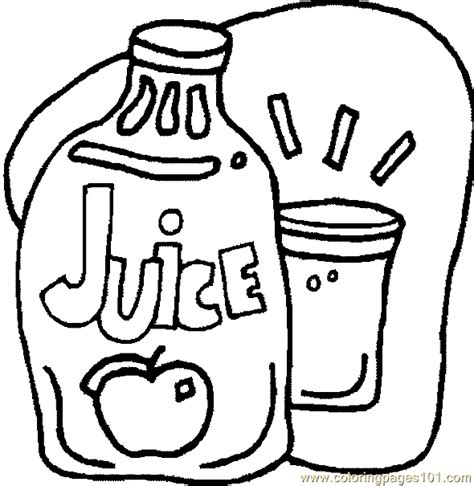 coloring pages drink coloring page 11 food fruits