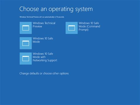 install windows 10 safe mode add safe mode to boot menu in windows 10 and windows 8