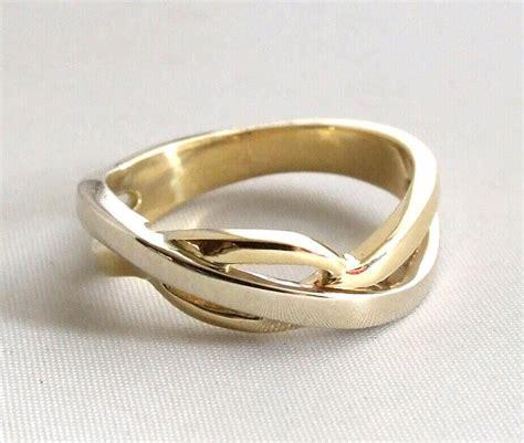 Bicolor Ring by Gevlochten Gouden Bicolor Ring Ring Kopen De Mooiste