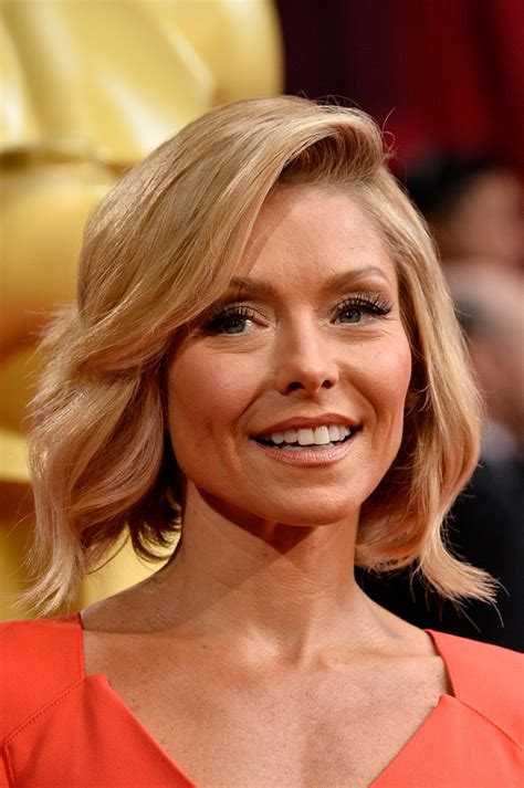kelly ripa bob haircut 2014 kelly ripa new haircut 2014 www pixshark com images