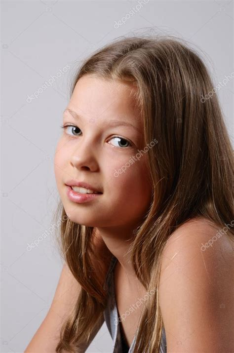 pre teen art models portrait of the preteen girl stock photo 169 olegmit 20345547