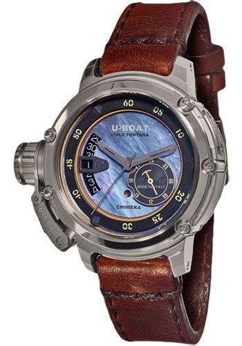 u boat watch chimera 43 limited edition u boat chimera 43mm steel watches from swissluxury