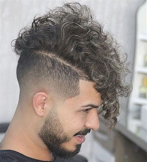 curly hair combover 2015 taper fade haircuts for men 56 cool tapered hairstyles