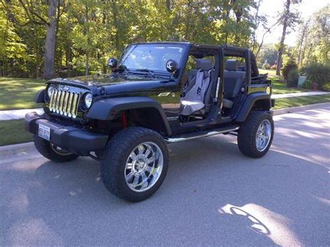 2009 Jeep Wrangler 4 Door by Sell Used 2009 Jeep Wrangler Unlimited X Sport Utility 4 Door 3 8l In Morton Illinois United