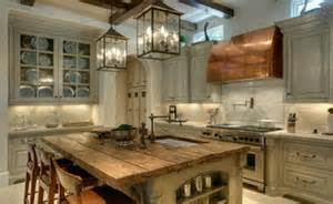 15 reclaimed wood kitchen island ideas rilane wooden kitchen island top traditional kitchen other
