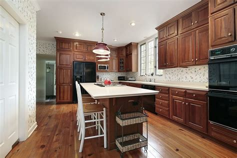old fashioned kitchen cabinets 43 quot new and spacious quot darker wood kitchen designs layouts