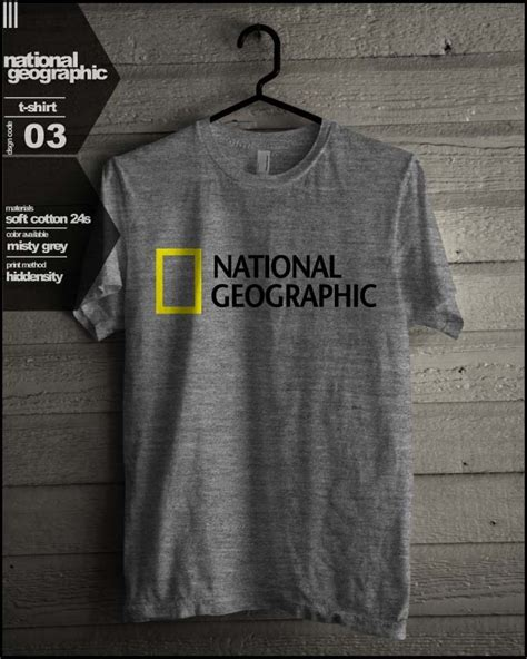 T Shirt Nat Geo Rafter National Geographic T Shirt Universitas Pendidikan