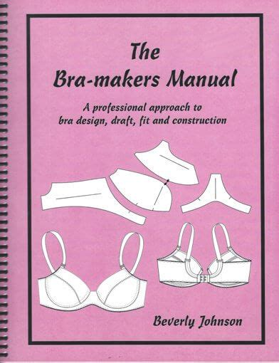 bra pattern making books ecb01 bra maker s manual english couture company