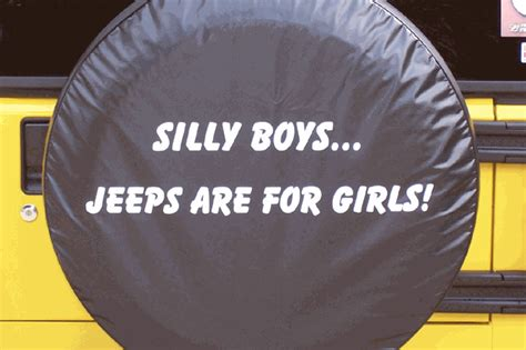 jeep discontinued jeep tire covers silly boys jeeps   girls