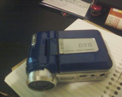 Dxg Release 5 Megapixel Camcorder Dxg 506v In Four Colours Including Black Natch by Blue Dxg 506v Digital