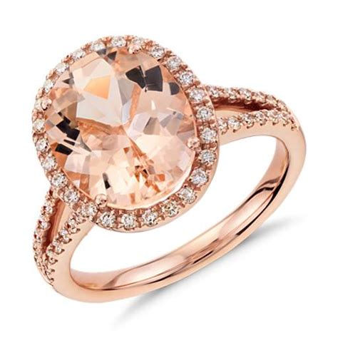 Bvlgari Bv028 Black Rosegold Blue morganite and ring in 14k gold blue nile