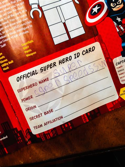 printable superhero id cards superhero id cards free superhero printable it s a