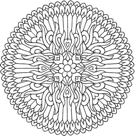 mystical mandala coloring pages free mandala coloring mandalas and dover publications on