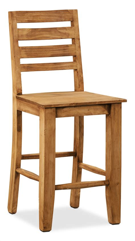 santa fe rusticos solid pine counter height dining chair