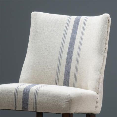 Rydel Blue Stripe Fabric Dining Chairs (Set of 2) ? GDF Studio