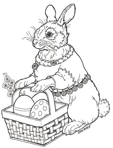 coloring pages for adults bunny 157 best easter coloring pages images on pinterest