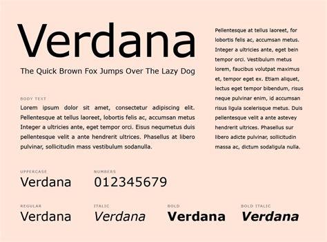 font verdana what fonts should you use for your resume