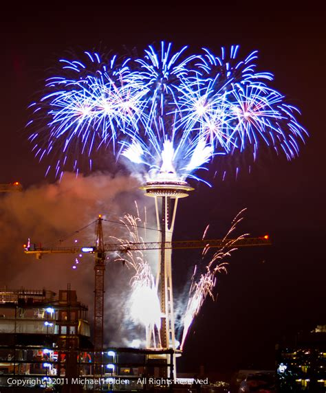 new years space needle space needle new years images