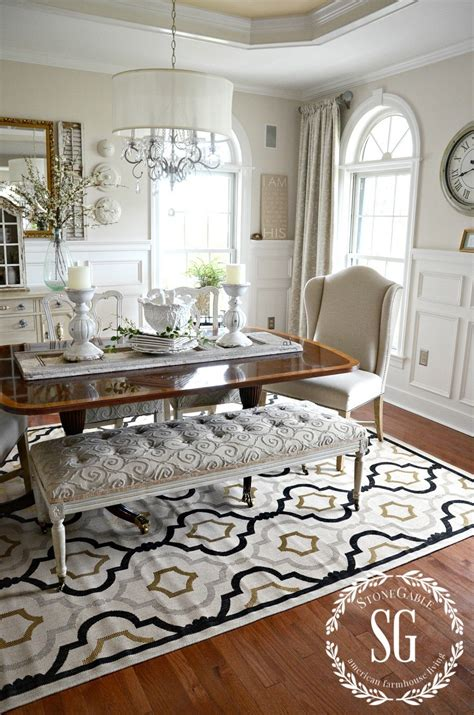 rug dining room 5 rules for choosing the perfect dining room rug stonegable