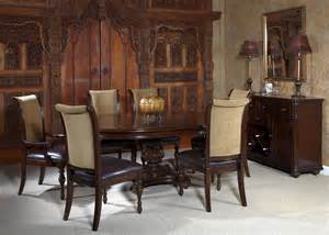 kingston plantation oval pedestal dining room set 720