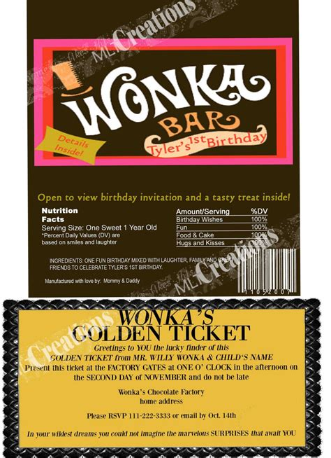 willy wonka ticket template free willy wonka golden ticket template