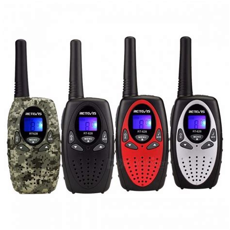 Retevis Mini Pairs Walkie Talkie With Led Light T 388 mini walkie talkie radio retevis rt628 0 5w uhf