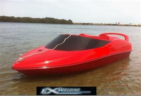 snowmobile engine in mini jet boat exact welding aluminum jet boats fabrication welding in