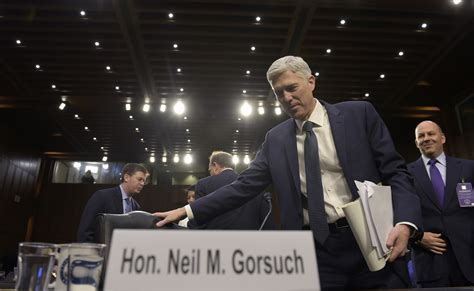 neil gorsuch vote democrats should filibuster neil gorsuch his record shows