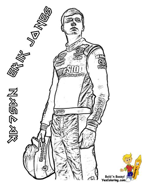full force race car coloring pages  nascar