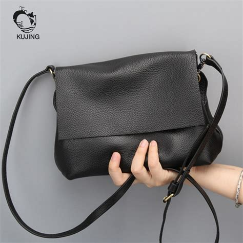Where To Go Cheap Apples2apple Simple And Stylish by Kujing Leather Handbags High Grade Simple Shoulder