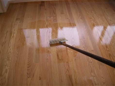Polyurethane Applicators Hardwood Floors by A Waterborne Polyurethane Floor Finish Best Polyurethane