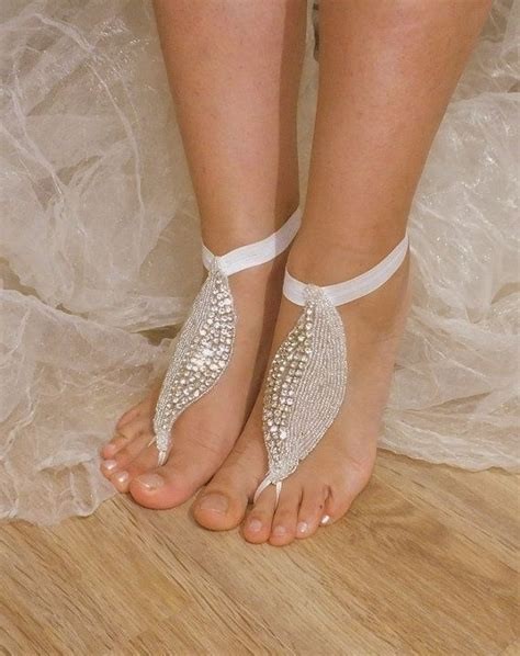 how to make footless sandals barefoot sandals footless sandals anklet toe ring foot