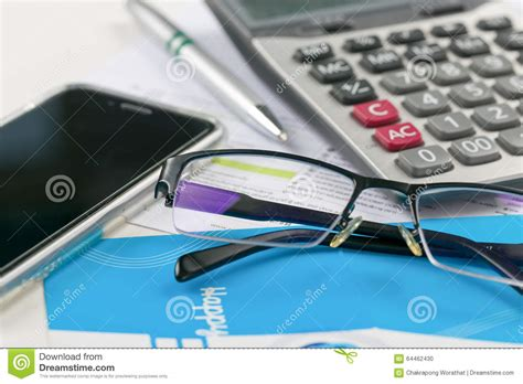 Office Desk Tools Office Desk Tools On The Table Stock Photo Image 64462430