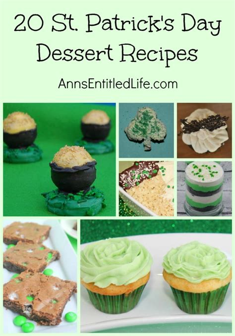 Recipes For S Day 20 St S Day Dessert Recipes