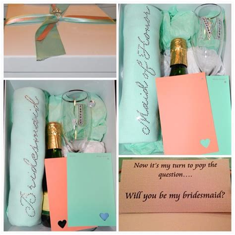 Handmade Bridesmaid Gifts - 1000 ideas about wedding gift boxes on card