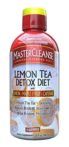 The Tea Detox Reviews by Dietworks Master Cleanse Lemon Tea Detox Diet 32 Fluid