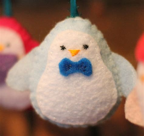 pattern for felt penguin ornament 50 diy christmas ornaments do small things with great love