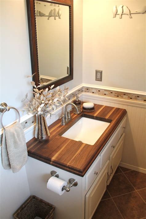 wood counter bathroom 17 best images about our wood your home on pinterest