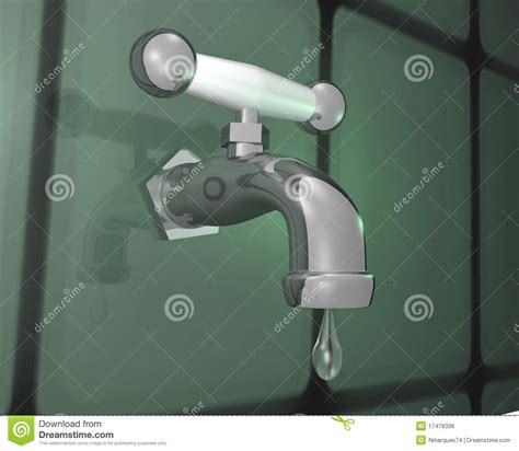 Free Faucet Leaking by Faucet Leak Royalty Free Stock Image Image 17478336