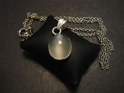 moonstone gemstone silver pendant christopher william