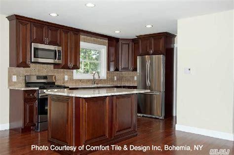 chestnut kitchen cabinets kitchen cabinet chestnut rope molding for cabinets