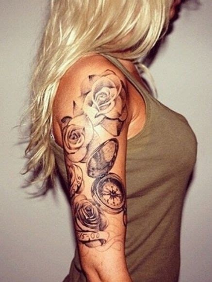 rose tattoo on arm girl 39 best images about tattoos on pinterest feathers