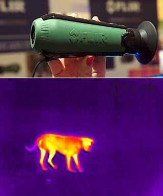Monalisa Infrared Model Dibawah Dada flir scout tk thermal seukuran poket