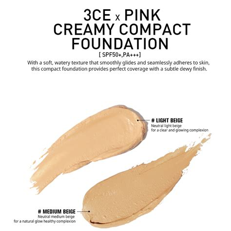 3ce Compact Foundation Pink 3ce pink compact foundation stylenanda