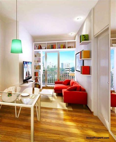design interior apartemen tipe 33 interior design 1br apartment casa de parco bsd