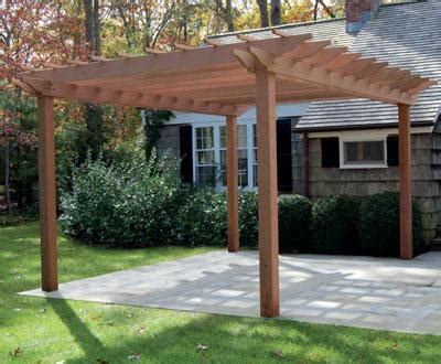 sophisticated simple kit pergolas
