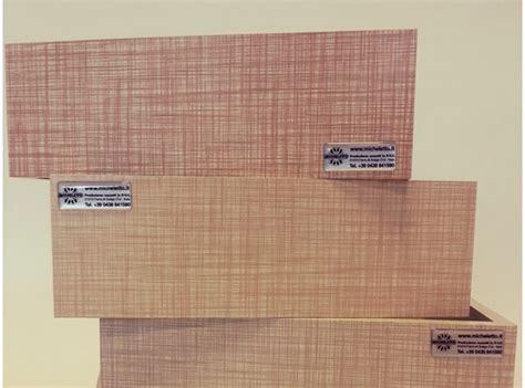 cassetti per mobili cassetti per mobili in truciolare avvolti in foglia in pvc
