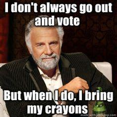 Voting Memes - vote meme on pinterest voting meme memes and game of